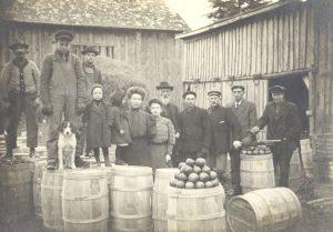 Cider v minulosti