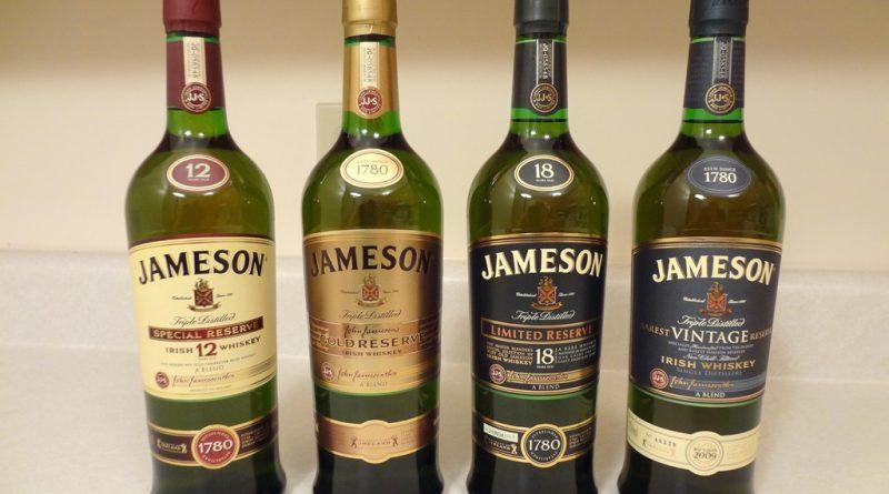 Jameson fľaše