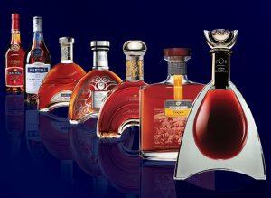 Fľaše Martell