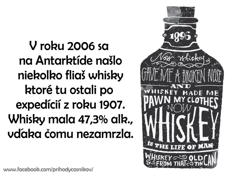 zaujímavosť o whisky